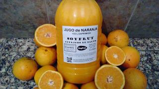 Jugo Naranja / Mandarina Mix 100% Exprimido Natural De Salto