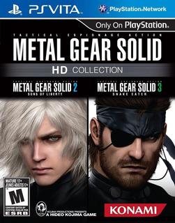 Metal Gear Solid Hd Collection Juego Ps Vita Original Cdkey