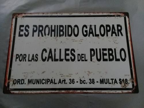 Carteles Chapa Tipo Antigua No Esmaltada Barbacoa 30x20 Bar
