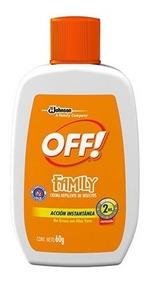 Repelente En Crema Off Skin 60 G.