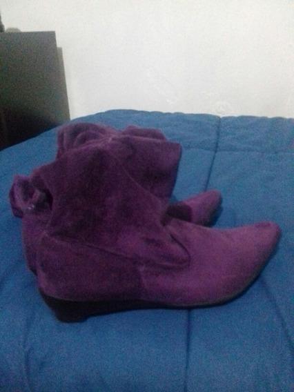 Botas De Dama 35. Violetas Sin Uso