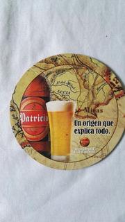 6 Posavaso Promocion Cerveza Patricia Ideal Coleccionista