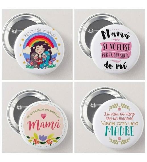 Pins Personalizados 56mm $13 Cada Uno Diseño Incluido