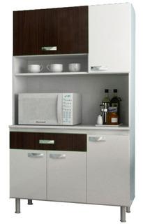 Muebles De Cocina Kit Multiuso 5 Puertas 1 Cajon K59