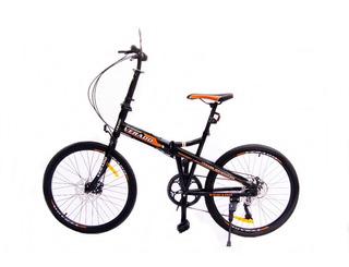 Bicicleta Plegable Rodado 24 Verado Shimano Adultos Disco