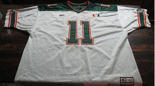 Remera Futbol Americano Miami Hurricanes De Usa Sin Uso