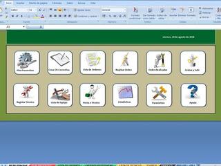 Planilla Excel Para Control De Mantenimiento Industrial