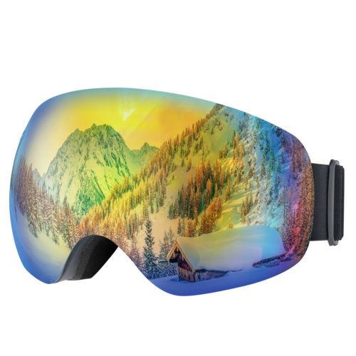 Gafas De Esquí Snowboard Uv400 Protección Vidrios A Prueba D
