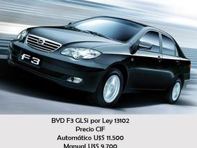 Byd F3 Full Manual Para Personas Con Discapacidad. Ley 13102