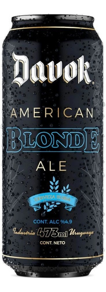 Cerveza Davok Blonde Ale Lata 500ml