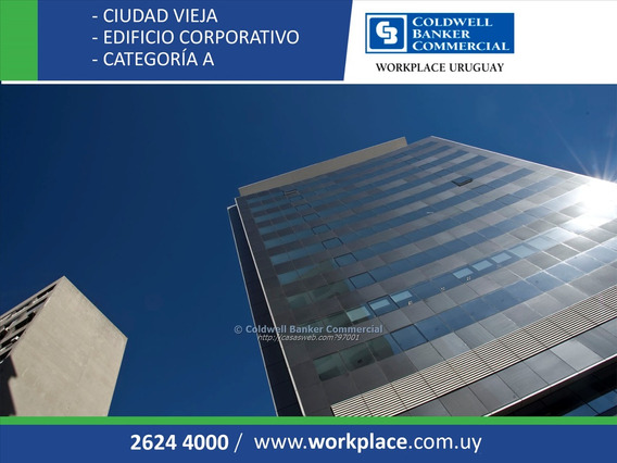 Oficina Ciudad Vieja - Plaza Independencia - Alquiler