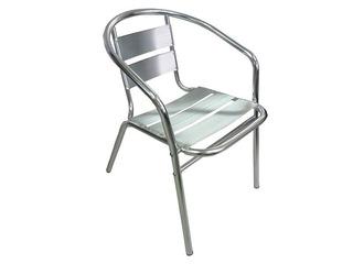 Silla De Aluminio Para Bares Jardines Y Terrazas Muebles
