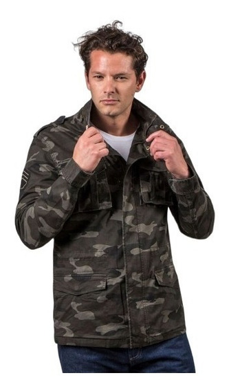 Campera Jungle Camuflada Kevingston - Hombre