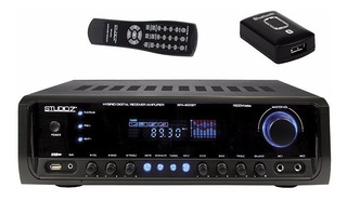 Sintoamplificador Studio Z 1200bt Bluetooth/usb/radio Am Fm