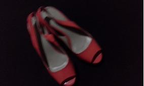 Sandalias De Vestir Con Plataforma Solo 1 Uso
