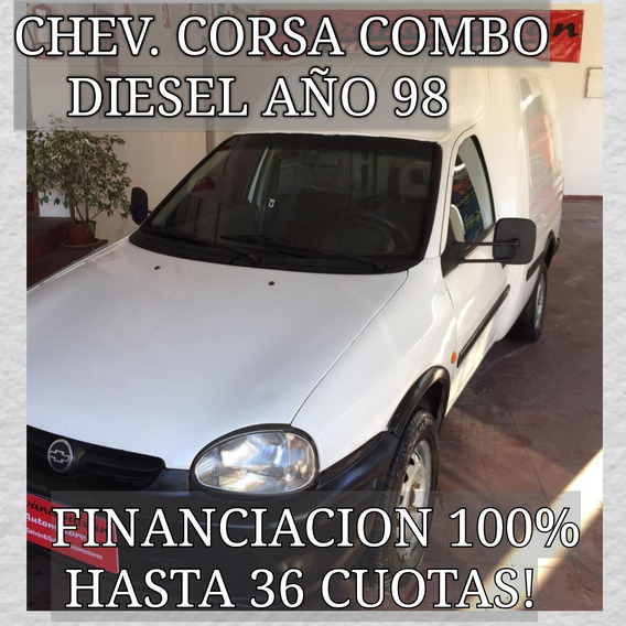 Chevrolet Corsa Combo Diesel Año 98 Financiacion