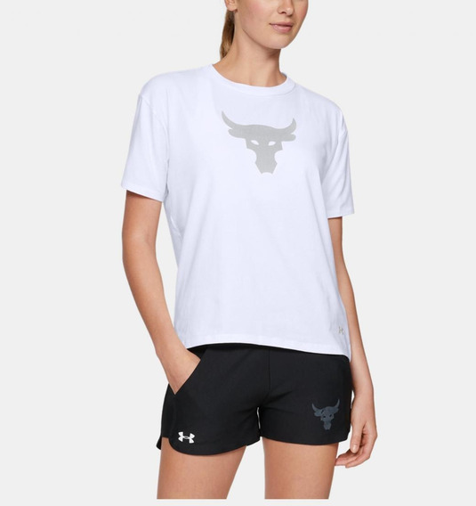 Remeras Under Armour Project Rock Bull Dama.