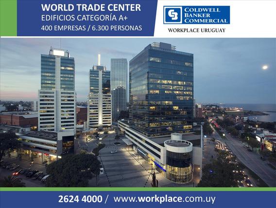 Alquiler Oficina En World Trade Center -wtc- Buceo