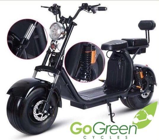 Scooter Electrica Go-green Deluxe Gtx