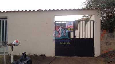 Casa Residencial Para Locação, Loteamento Remanso Campineiro, Hortolândia. - Ca0209