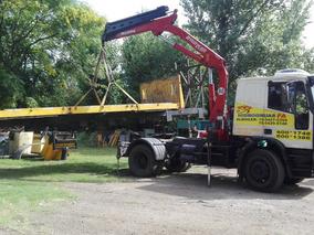 Vendo Tractor Iveco Con Hidrogrua Y Semirremolque