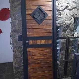 Puerta Madera Exterior Rusticas En Mercado Libre Uruguay