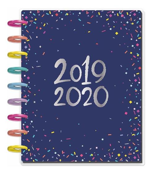The Happy Planner 2019-2020 Confetti Mediana - Mosca