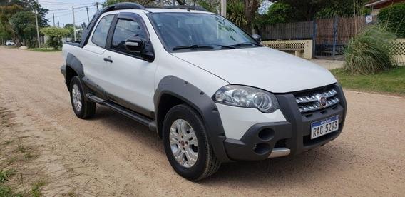 Fiat Strada Adventure 1.8 Full U$s 3900 Y Cuotas Sola Firma