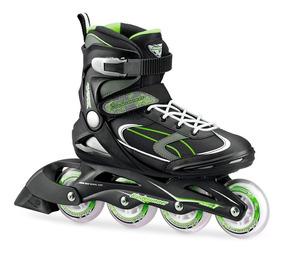 Rollers Patines Rollerblade Bladerunner Profesionales Verde