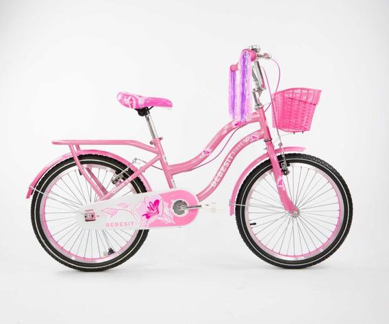 Bicicleta Para Niña Bebesit Rodado 20 Micasa