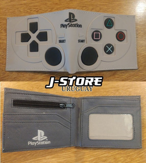 Billetera De Playstation Gamer Geek Control Psone Monedero