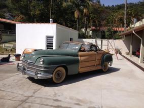 Chrysler Town Country Conversível Woody