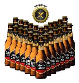 Cerveza Oferta Estrella Galicia Pack X 24 X 330ml Sin Gluten