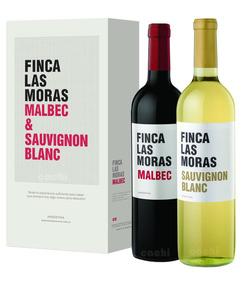 Vino Las Moras En Caja X 2 Botellas De 750ml