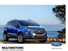 Nueva Ford Ecosport Freestyle 1.5 Mt - 2019