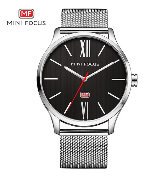 Reloj Calendario Mini Focus Mf018 Syi - Original