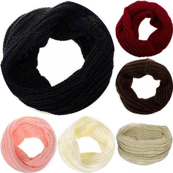 Bufanda Cuello Circular