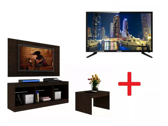 Panel De Tv+rack+mesa+televisor Smart Tv 32 Microsonic Lg