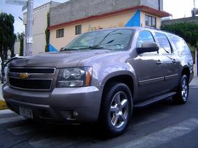 Chevrolet Suburban 5.3 Lt V8 Piel 2da Cubo 4x4 2014