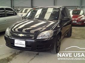 Chevrolet Celta Ls 2013 Negro 3 Puertas Myl