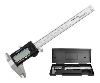 Calibre Digital 150 Mm Acero Profesional - Electroimporta -