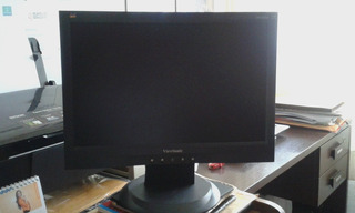 Monitor Lcd Viewsonic 17 Para Pc