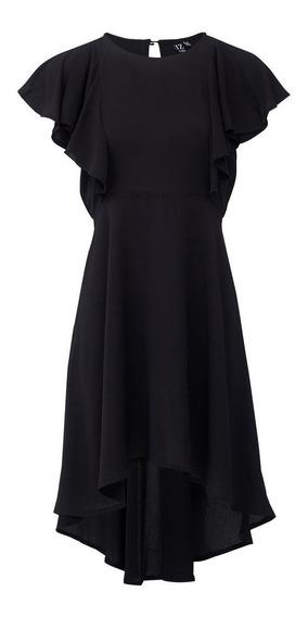 Vestido Rocco D135989 Negro Talles S Al Xl