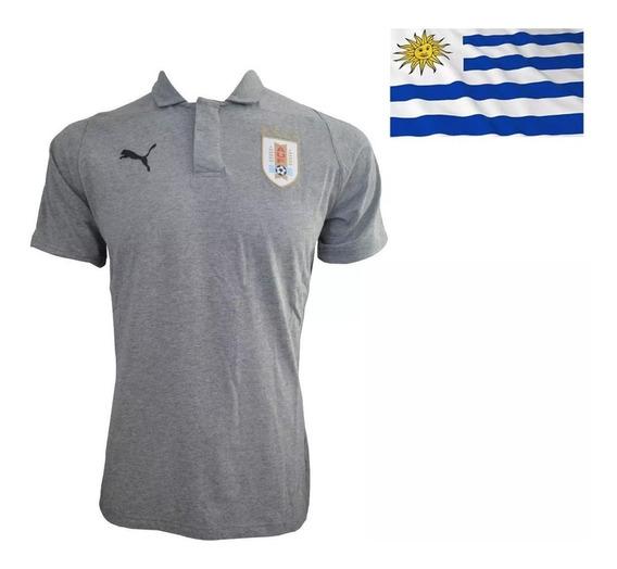 Camiseta Remera Polo Puma Uruguay Rusia 2018 Oficial