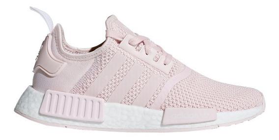 adidas nmd mujer gris y rosa
