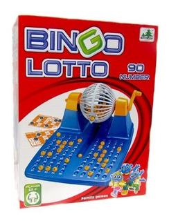Juego De Mesa Bingo Lotto Bolillero - Lotería - Vamosajugar