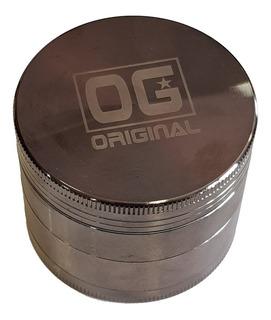 Desmorrugador Og Original Grinder 4 Partes Metal Grande
