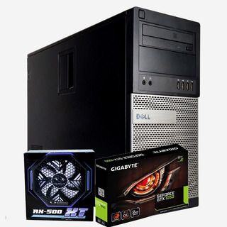 Equipo Pc Gamer Core I5 8gb 500gb Dvd Gtx 1050 2gb 500w Real