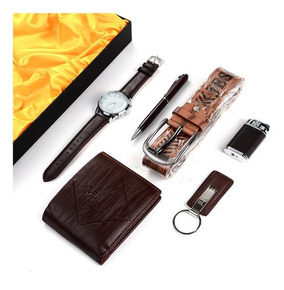 Reloj Billetera Cinturon Encendedor Y Mas Ml1021 San Valent