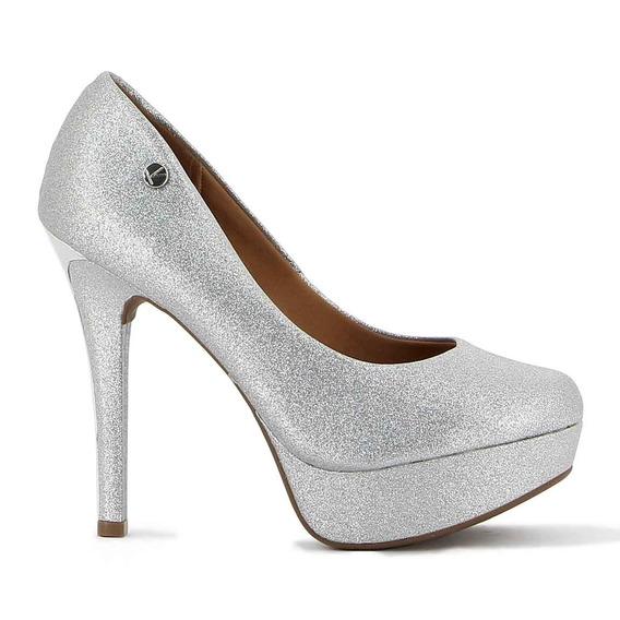 Zapato Vizzano Dama Taco Alto Lxv Det. Metal C/plataforma Y
